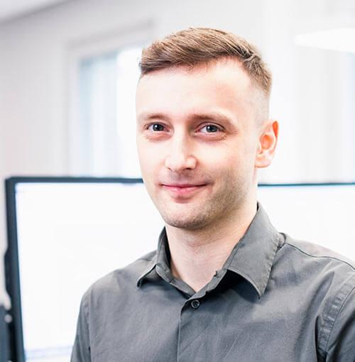 Herr Marek Holisik, Leiter AVOR und Planung