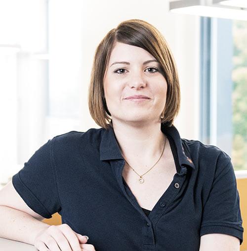 Ansprechpartner Frau Carola Affolter, Leiterin der Marktregion Mitte